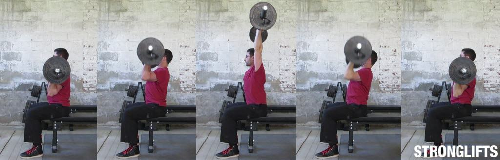 Seated Press