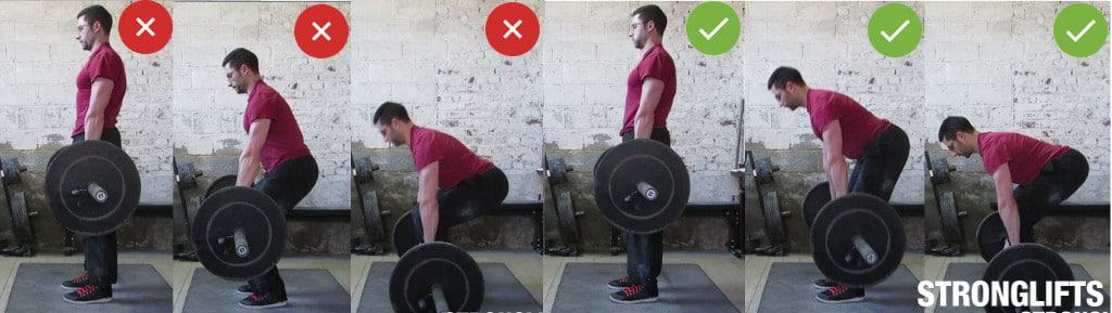 How to lower the bar on Deadlifts