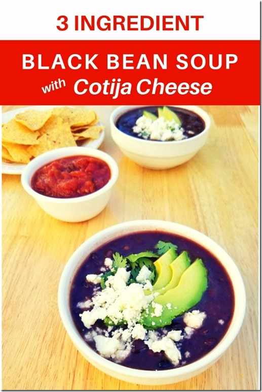 3 ingredient black bean soup recipe and coti cheese (534x800)