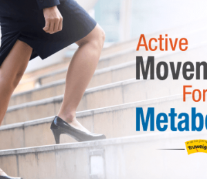 5 ways to add movement to your daily routine to increase metabolism