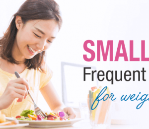 6 reasons why nutritionists recommend eating small meals more time for weight loss