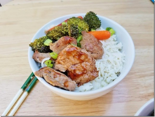 Healthy pork recipe for Teriyaki Gulls w Farmer John 1 (769x577)