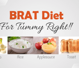What is the BRAT diet and how does it help your stomach health?