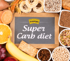 What is the Super Carb diet and how does it help in weight loss?