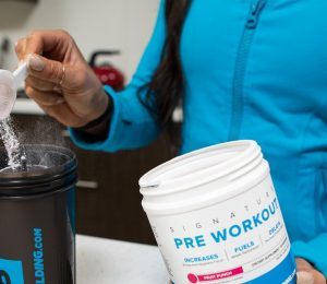 When should I have a pre-workout?