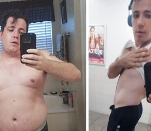 Ryan Brock dug himself out of depression, divorce, and over 70 unwanted pounds!