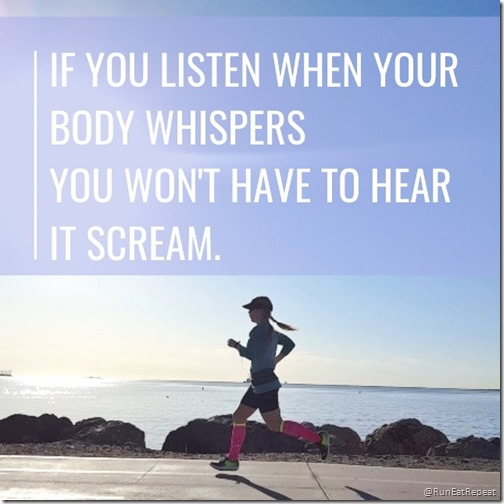 Tips on running experience in injury prevention Listen when your body whispers (640x640)