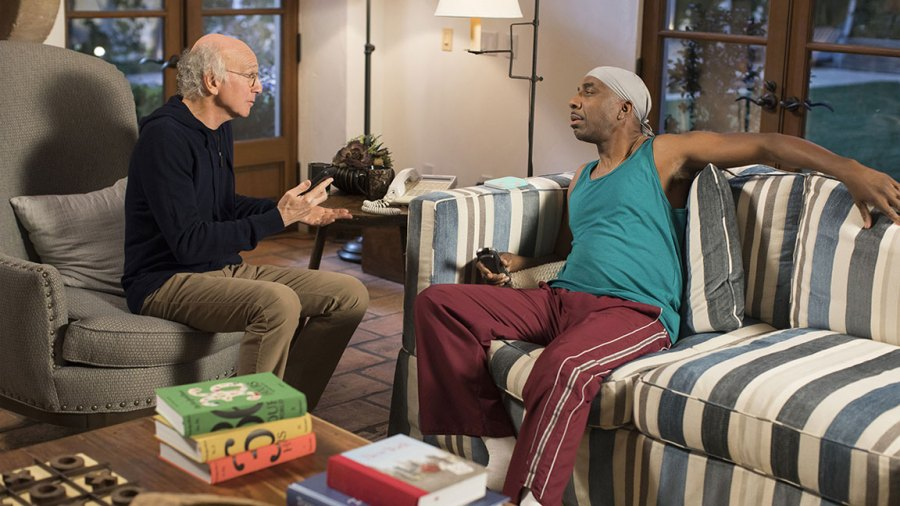 Larry David and JB Smoove curb your enthusiasm