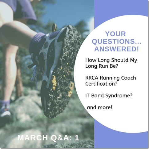 March running questions instagram story