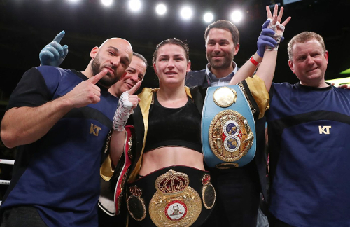 Ross Enamite - Katie Taylor - Lightweight Champion