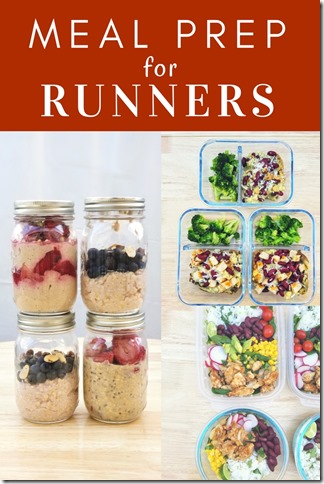 cooking for runners