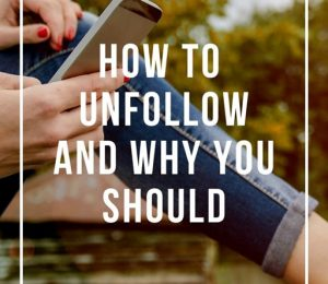 How and why to unsubscribe from someone in social networks Podcast 110