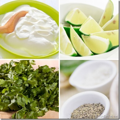 Cilantro lime recipe for tacos