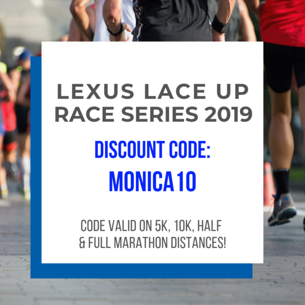 Lexus Lace Up Race Series 2019 discount code