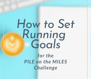 How to set a running target for PILE in a MILES competition