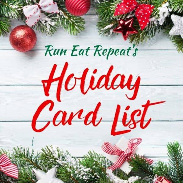 Holiday Eat Repeat Holiday Card List