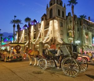 Mission Inn Riverside Festival of Lights