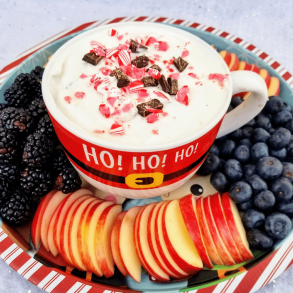 Peppermint Bark Yogurt Dip Recipe Healthy Dessert Recipe