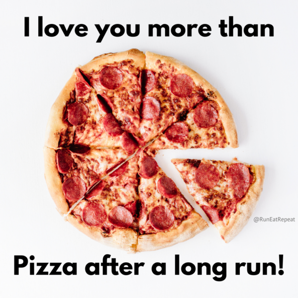 I love you more than pizza Valentine's Day